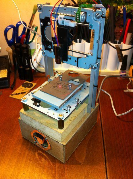 Pocket laser engraver finals cnc and arduino