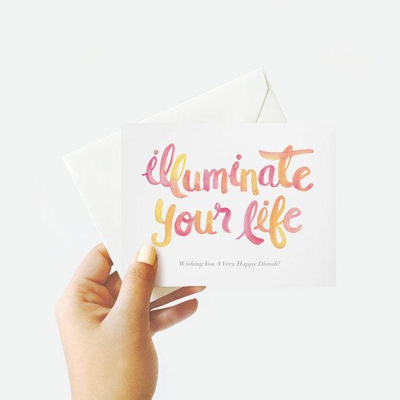 Happy Diwali Card by BxPATEL on Etsy