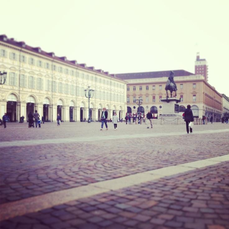 Piazza San Carlo è sempre uno splendore! #lamiatorino