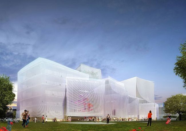 First Prize: SANAA with joint tenderer Ricky Liu & Associates Architects+Planners