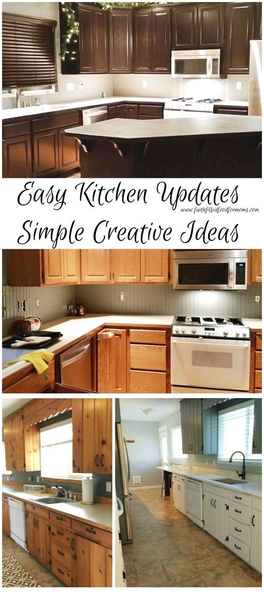 easy kitchen updates simple creative ideas it doesnt take much money or time - Update Kitchen Ideas