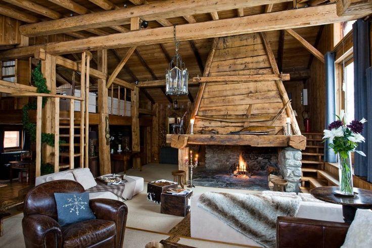 Причины популярности стиля шале, главные архитектурные особенности шале. Альпийский интерьер и его отличия. В буквальном смысле Chalet означает «хижина пастуха»