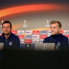 FC Schalke 04 held a press conference in the Veltins-Arena in Gelsenkirchen, Germany