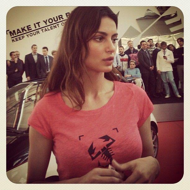 #abarth 500 advert actress