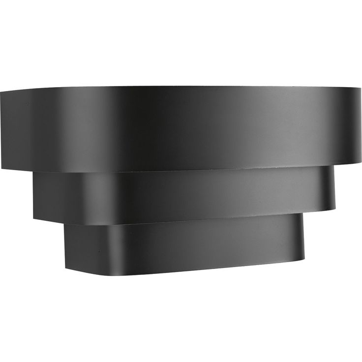 Chic And Modern This Progress Lighting Light Black Wall Sconce Will Create A Stylish Statement To Your Family Area