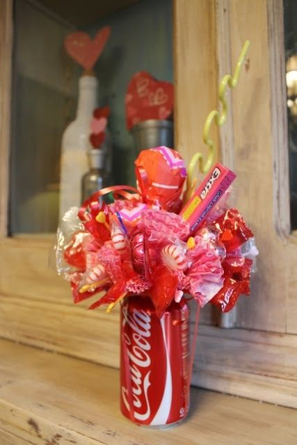 How To Make A Soda Can Candy Bouquet by jacqueline