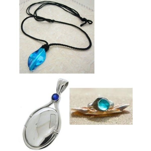 "The necklaces from ""h2o: Just Add Water"", as well as the ring from ""Mako Mermaids"". I WANT THIS SO MUCH!!!!"