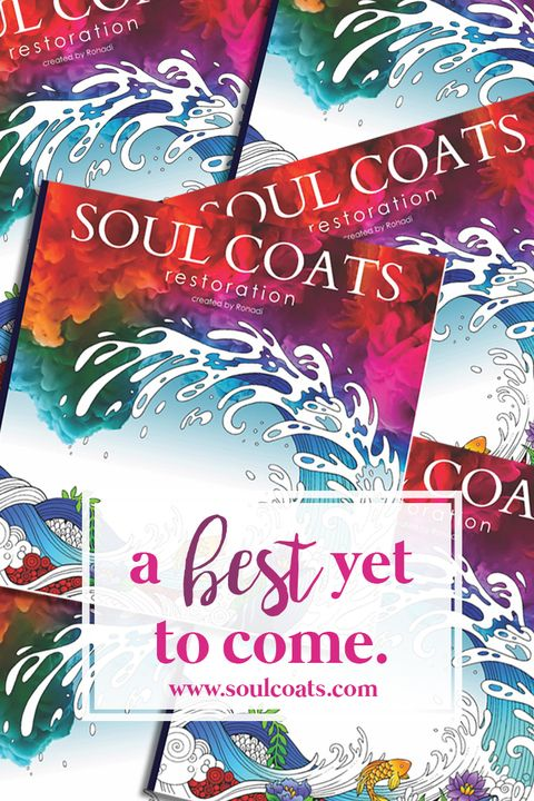 Soul Coats: Restoration #adult #coloring #book of #Biblical scenes brings #beauty to life.  As you color each scene, experience God's best to come - His loving promises. Girlfriend, you are His ultimate best: formed in beauty, to create beauty. Visualize your heavenly home.  Does peace flood your #Spirit? Note how illustration-free pages about #Christ's death and resurrection provide an opportunity to color a personal story of what these events mean to you!