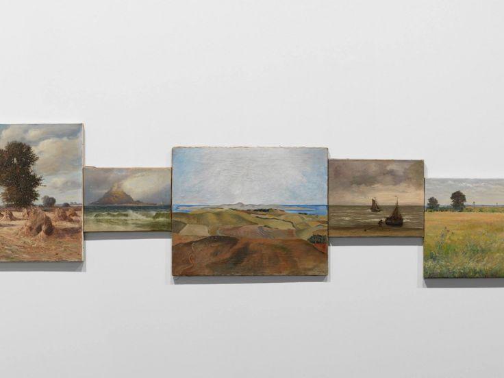 horizon-travers-tableau- Hans Peter Feldmann
