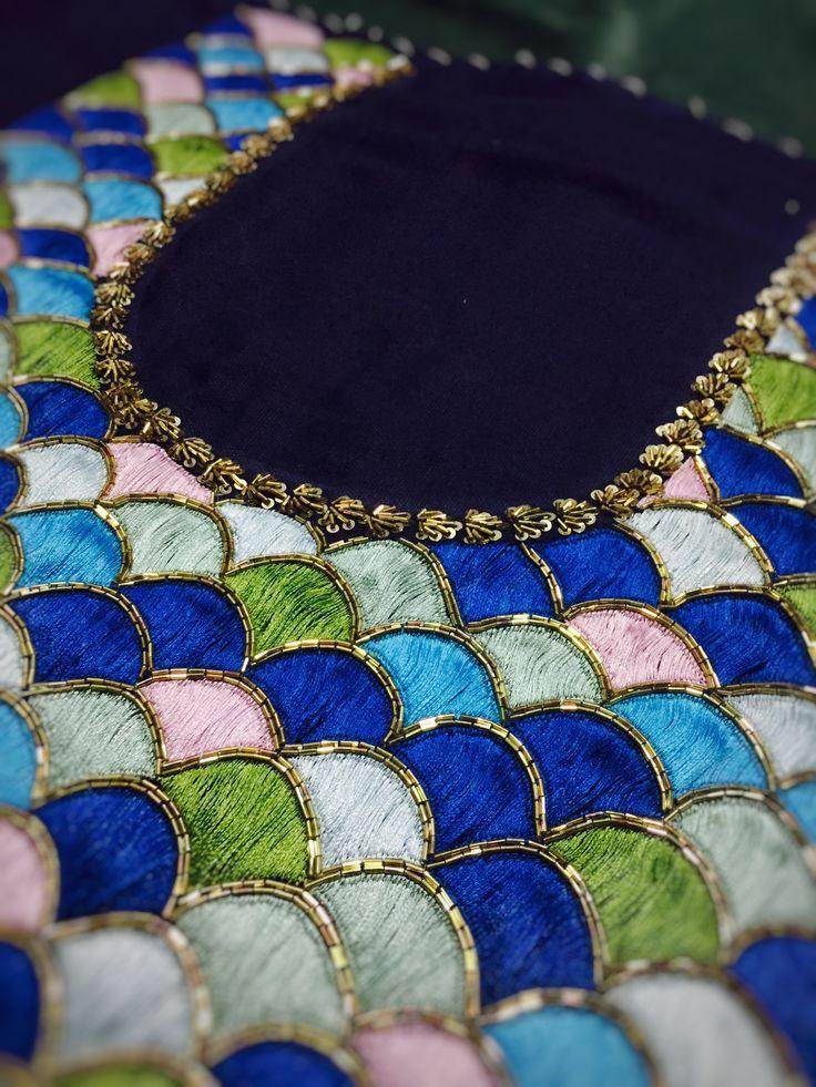 Multicolored Designer Blouse Top #sabyasachi#designer#multicoloured#theudaipurstory
