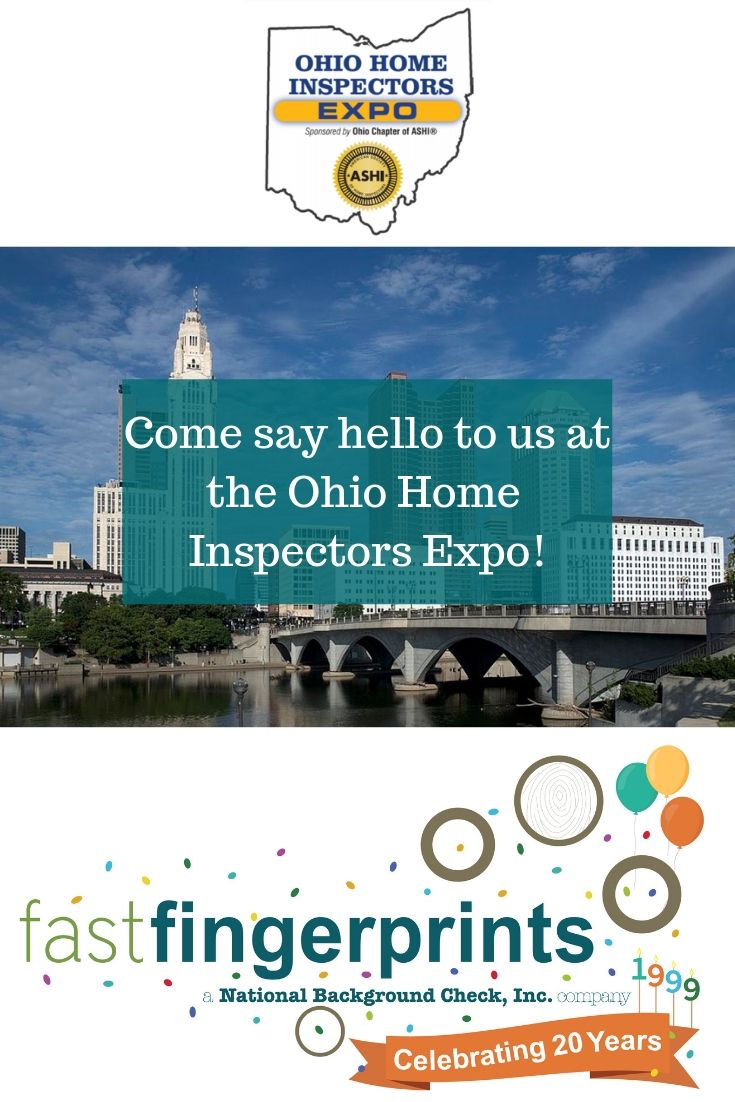 See You At The Ohio Home Inspectors Expo Background Check Ohio Home Health Care