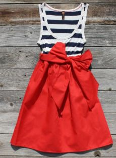 want this for when josh gets back home!: Summer Dresses, Fourth Of July, Outfit, Styles, 4Th Of July, Stripes, Sailors, Big Bows, Red Skirts