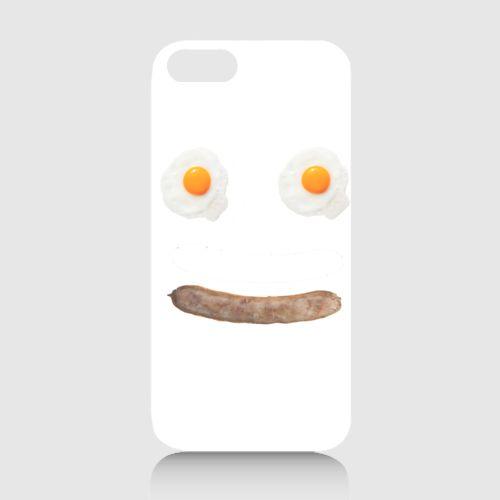 Egg and Sausage Phone Case dari Tees.co.id oleh BML