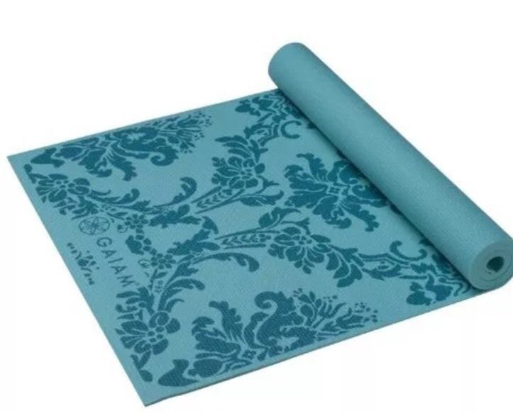 "20 USD Gaiam Yoga Mat NEW Neo-Baroque Print Non Slip 68""x24"" 3mm w/SuperGrip Technology | eBay"