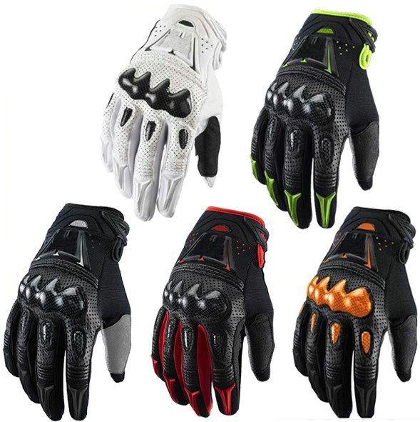 New Carbon bomber motocross gants BMX VTT VTT MX Off route croix Renards gant Dirt bike Vélo vélo Moto racing gants