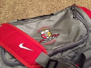 Kappa Alpha Psi Nike Gym bag at www.perfectapparel.com.