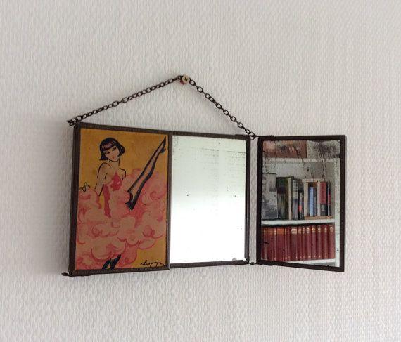 les 60 meilleures images du tableau miroirs vintage sur. Black Bedroom Furniture Sets. Home Design Ideas