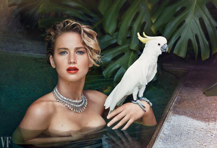 Jennifer Lawrence's Vanity Fair spread (Nov.2014)