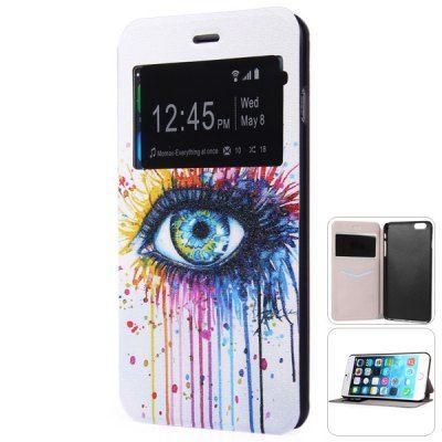 Llévalo por solo $14,200.Elegante PC Patrón búho y cubierta de la caja de la PU para el iPhone 6 Plus - 5,5 pulgadas.