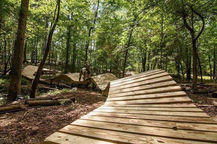 Pump Track North Shore Mountain Biking Pinterest