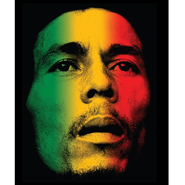 Bob Marley Rasta Face 45x60 Microfiber Blanket - Free Shipping in the US!