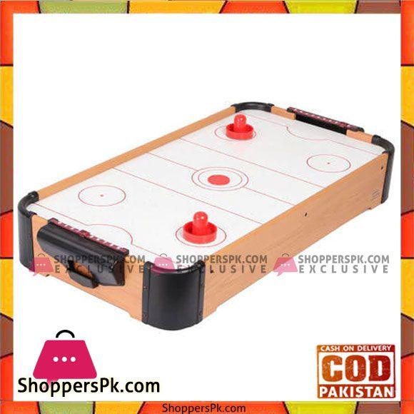 Buy Air Hockey Tabletop For Kids Mini Air Hockey Table Air Flow Ice Hockey Table At Best Price In Pakistan Air Hockey Table Air Hockey Table Top