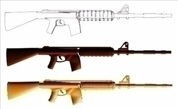 INSAS Rifle blueprints INDIAN Secret weapon 3D Model-   specially designed for persons who have MILITARY interest and have interest to explore different weapons of different nationsINSAS INDIAN NATIONAL SELF ARMED SYSTEMltltlt,..no comparisions....but the bestJAI HIND - #3D_model #Rifle