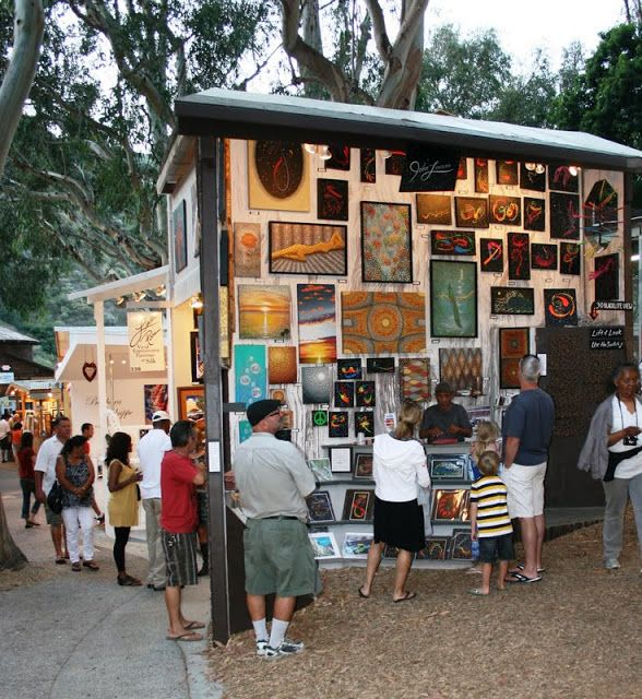 Summer fun at the Sawdust Art Festival ~ Laguna Beach