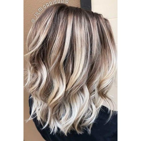 15 Easy New Medium Hair Styles | LoveHairStyles.com ❤ liked on Polyvore featuring beauty products, haircare and hair styling tools