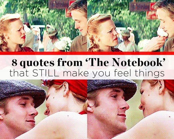 8 Quotes from THE NOTEBOOK That STILL Make You Feel Things | Women's Health Magazine