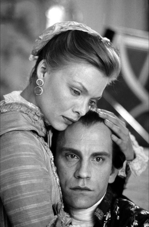 John Malkovich y Michelle Pfeiffer, Dangerous Liaisons (Las amistades peligrosas), 1988.