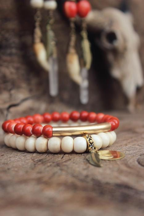 BOHEMIAN Personalized Bracelet Stacking by WildPeopleFreeSpirit