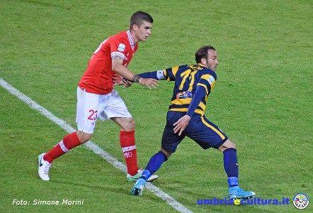 Calcio. Perugia-Verona, 1 pareggio in 1 minuto: 1-1