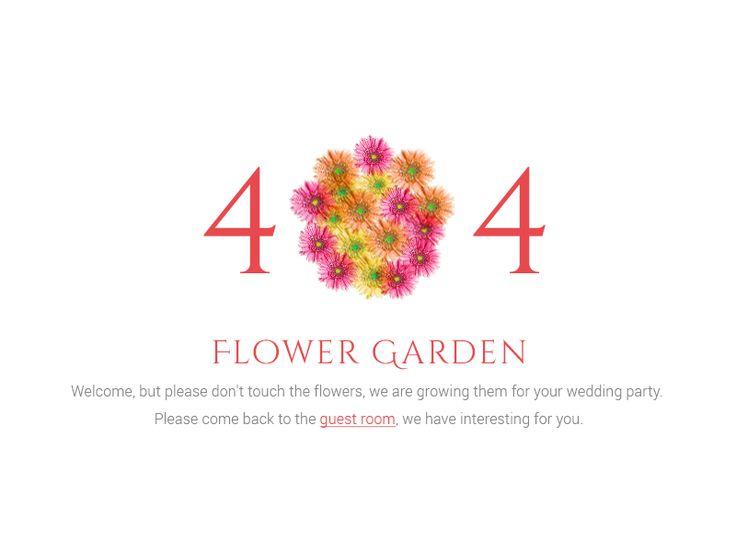404 Wedding site