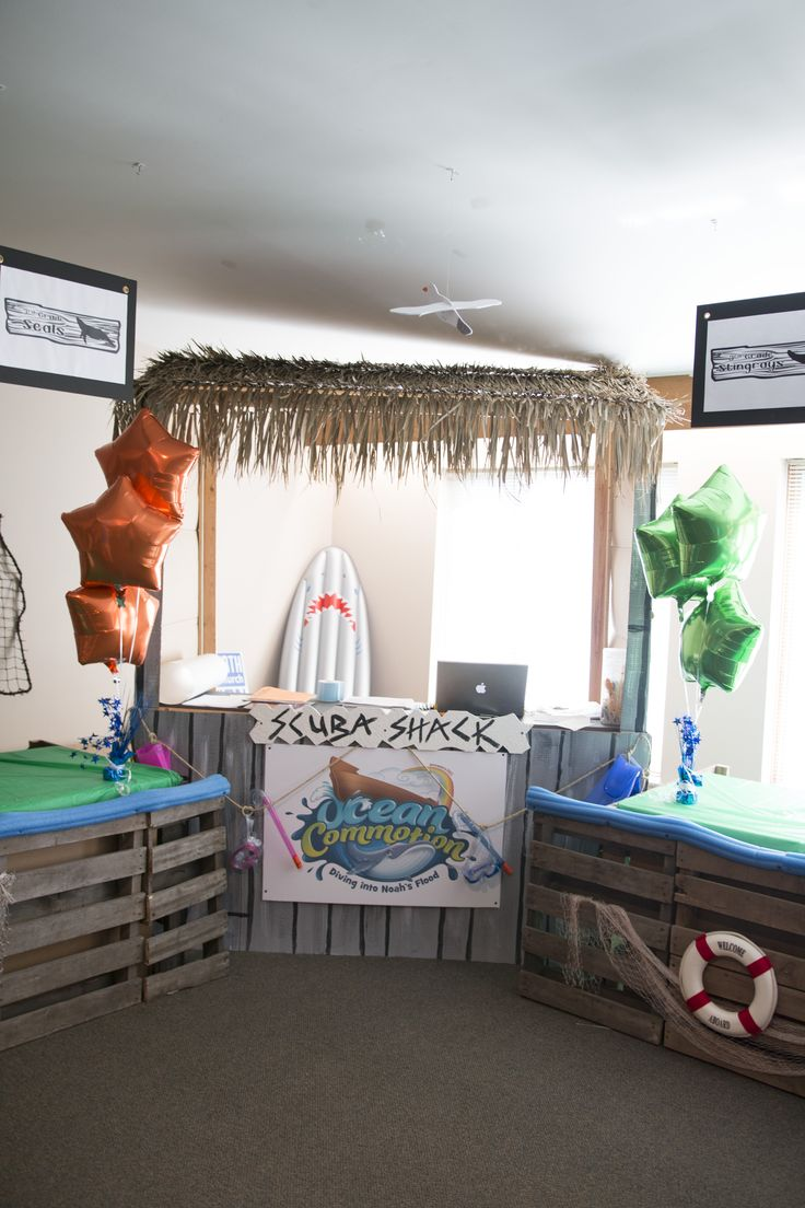 24 best images about surf shack vbs decorating ideas on for Surf decoration