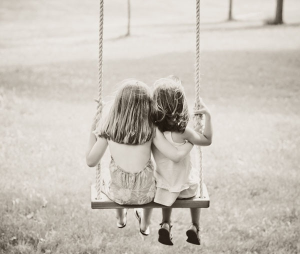 Two friends can enjoy the swing together and create long lasting memories.  Check out gingerandpickles.com for more information : )