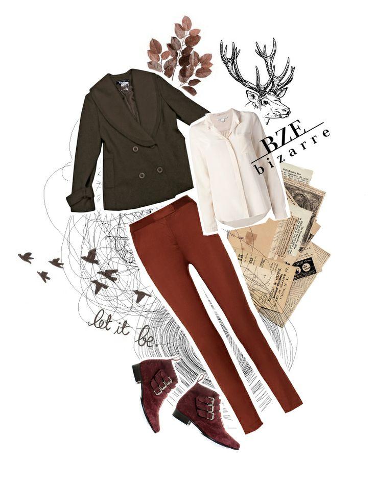 Arma el Look con BIZARRE 2013 II  Blazer: $270.000 Camisa:$104.900 Pantalón: $119.900