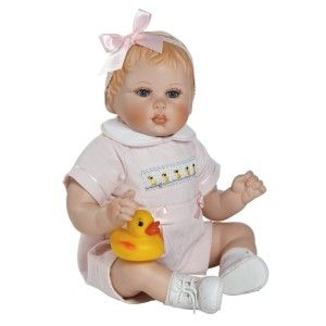 Marie Osmond, Duck Duck Goose, 10.5″ Seated Porcelain Collectible Doll