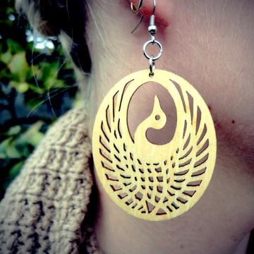 phoenix earrings from Windsday