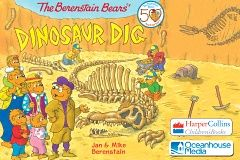 The Berenstain Bears Dinosaur Dig - Join us in this fun and interactive book app as Brother and Sister visit the Bearsonian Museum where a real dinosaur dig is taking place! What sort of fossils will they find? A Stegosaurus? A Spinosaurus? The mighty Tyrannosaurus rex? Dig in and find out! iPhone, iPod Touch, iPad & Android Apps - Oceanhouse Media