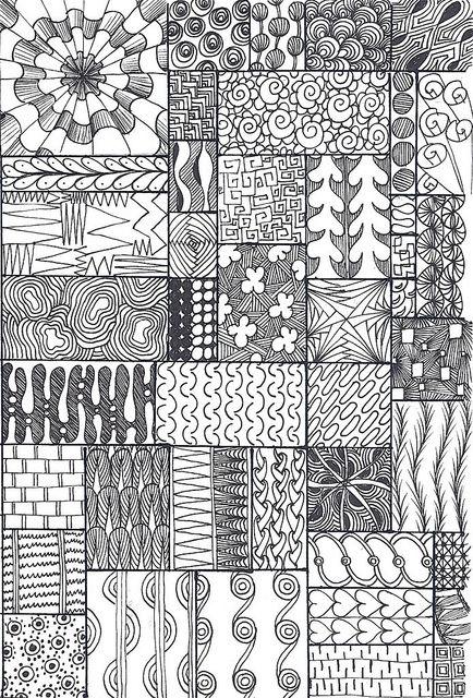 zentangle sampler | Flickr - Photo Sharing!