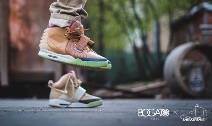 Custom-Nike-Air-Yeezy-2-II-Net-Color-Sneakers-Kanye-West-mens-shoes-by-Maggi-of-Bogato-blog-showcase-1