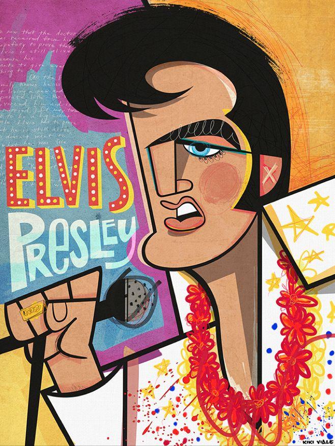 Elvis By kiki Viale