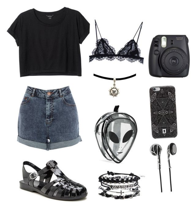 """""""Sin título #3"""" by unicorndust64-1 on Polyvore featuring moda, Monki, Warehouse, Chinese Laundry, Pieces, Fuji, DANNIJO, Frends y Isabel Marant"""