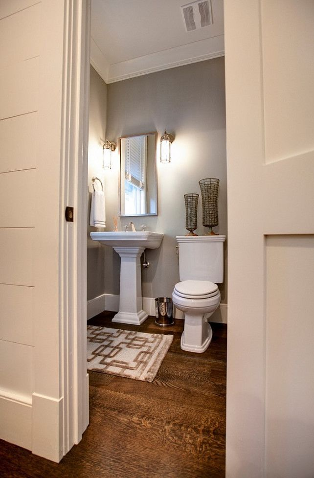31 best images about small powder room on pinterest for Small bathroom design apartment therapy