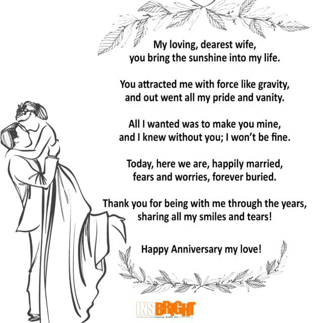 Best 55 Anniversary Quotes For Him Her: 25+ Best Ideas About Anniversary Poems On Pinterest