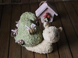 When Snails are Teddies: A Funny DIY Project with Your Own Hands. Livemaster - handmade
