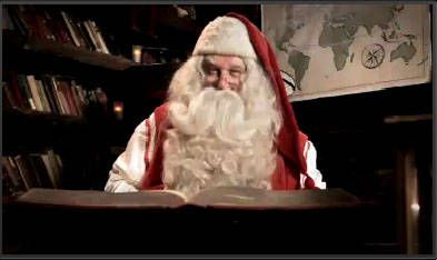 Send a Child a Free Video Message From Santa