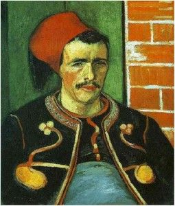 Read about Van Gogh's Zouave The Zouave (Half Length)