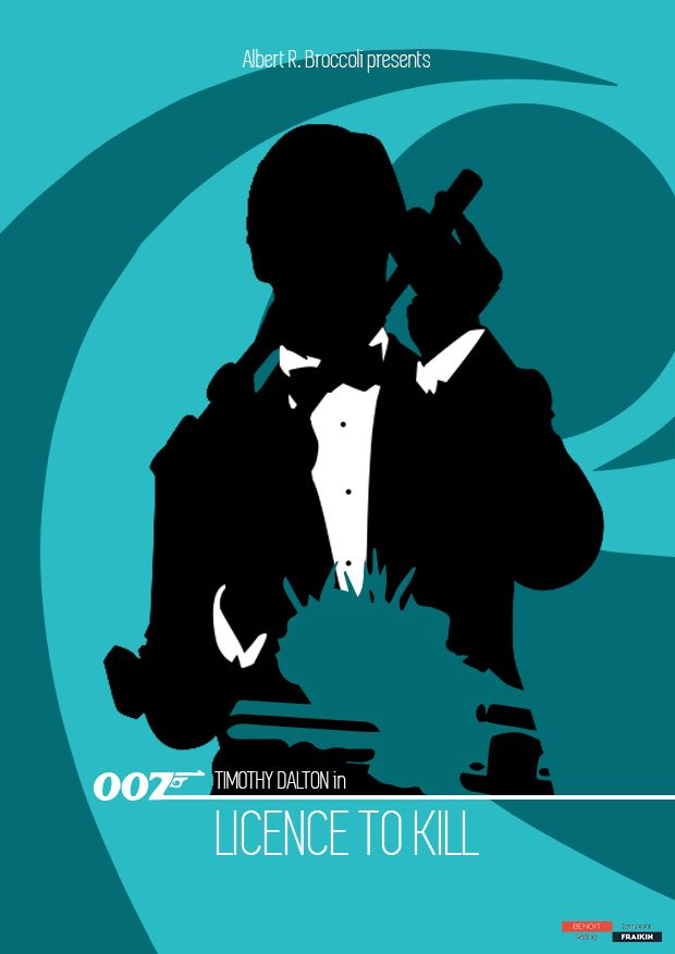 James Bond 007 - Poster Special Edition - Licence to kill 2
